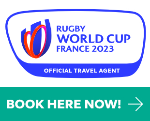 Rugby World Cup France 2023 - BOOK NOW
